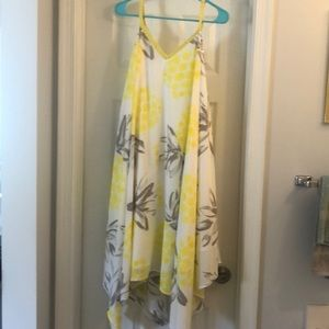 NWOT Merona Pineapple Print Sundress
